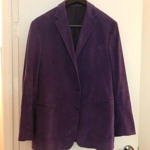 Stunning purple Polo blazer.  Size XL